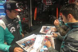 Nelson Piquet Jr., NEXTEV TCR Formula E Team; Ho-Pin Tung, Jaguar Racing