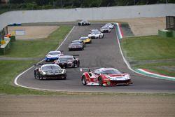 Gara 1, partenza GT3