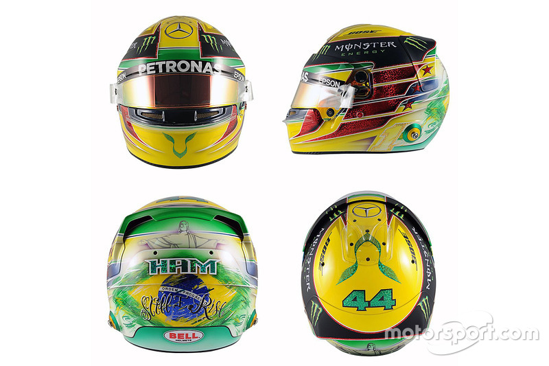 Brésil 2016 - Lewis Hamilton, Mercedes