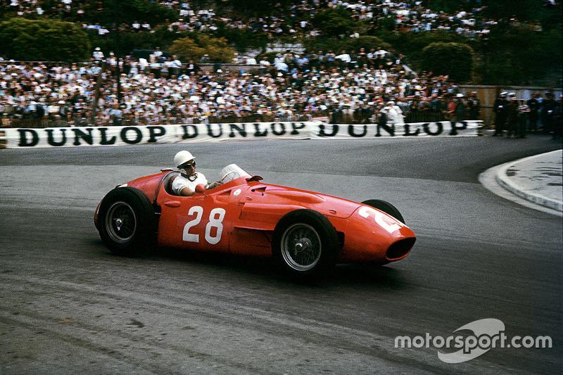 Stirling Moss, Maserati 250F, GP de Mónaco de 1956