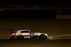 #1 Hofor-Racing Mercedes AMG GT3: Michael Kroll, Chantal Kroll, Roland Eggimann, Kenneth Heyer, Chri