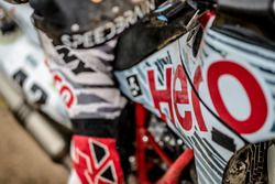 Hero MotoSports Team Rally bike detail