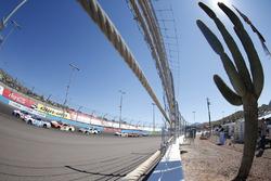 Chris Buescher, JTG Daugherty Racing, Chevrolet; A.J. Allmendinger, JTG Daugherty Racing, Chevrolet