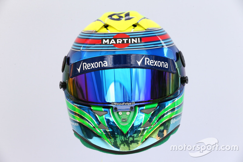 Helm von Felipe Massa, Williams