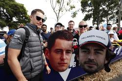 Stoffel Vandoorne, McLaren, rencontre des fans