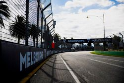Track detail, including Melbourne signage