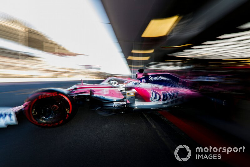 Sergio Perez - Racing Point: 10 puan