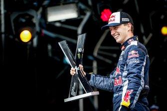 Podium: winner Timmy Hansen, Team Hansen
