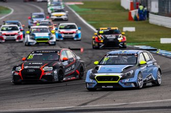 Santiago Urrutia, Team WRT Audi RS 3 LMS, Andreas Bäckman, Target Competition Hyundai i30 N TCR