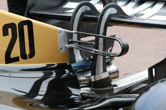 Haas F1 Team rear technical detail