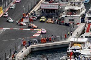 Michael Ammermüller, BWT Lechner Racing, Mikkel O. Pedersen, Dinamic Motorsport, Larry ten Voorde, MRS GT-Racing