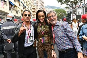 Salt Bae, chef, Supermodel Winnie Harlow and Eddie Jordan op de grid