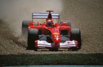 Ausritt: Michael Schumacher, Ferrari F2002