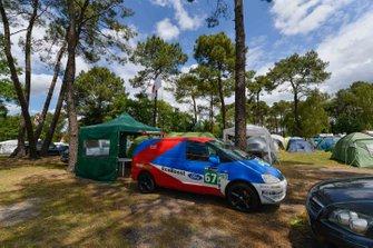 L'ambiance autour des campings
