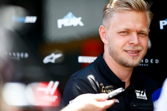 Kevin Magnussen, Haas F1 speaks to the media
