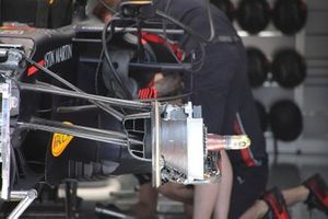 Red Bull Racing RB15, dettaglio del freno anteriore