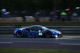 #89 Risi Competizione, Ferrari 488 GTE EVO: Pipo Derani, Oliver Jarvis, Jules Gounon