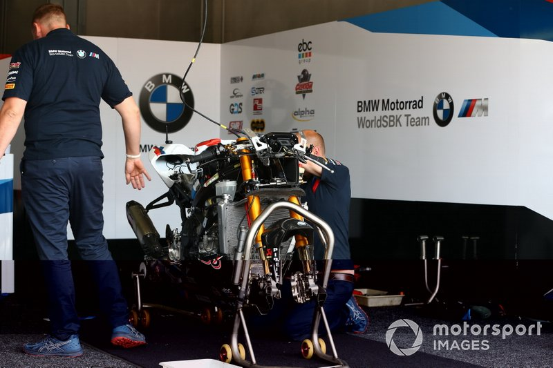 Bike of Markus Reiterberger, BMW Motorrad WorldSBK Team