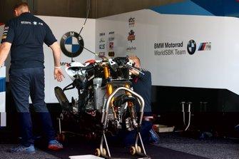 Motor van Markus Reiterberger, BMW Motorrad WorldSBK Team