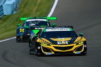 #57 Heinricher Racing w/Meyer Shank Racing Acura NSX GT3, GTD: Katherine Legge, Christina Nielsen, Bia Figueiredo