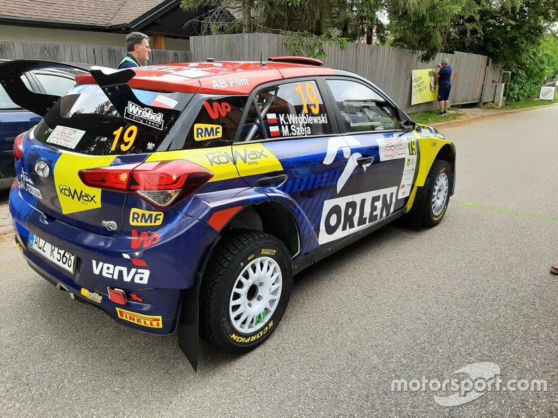 Kacper Wróblewski, Marcin Szeja, Hyundai i20 R5
