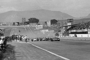 Start zum GP Spanien 1970 in Jarama