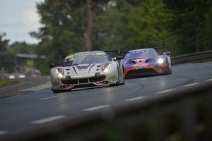#70 MR Racing Ferrari 488 GTE: Motoaki Ishikawa, Olivier Beretta, Eddie Cheever