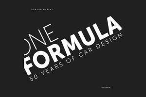 One Formula Book Cover