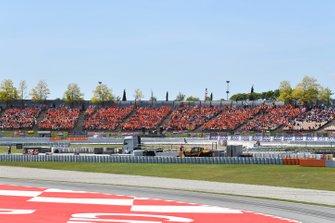 Dutch fans of Max Verstappen, Red Bull Racing, fill grandstands