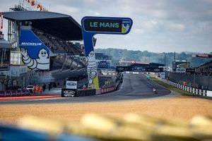 La ligne droite du circuit Bugatti du Mans