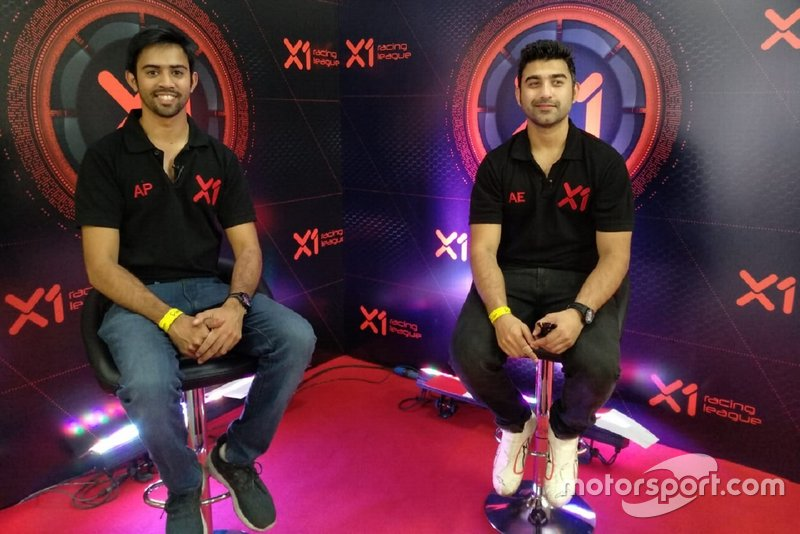 Armaan Ebrahim and Aditya Patel, X1 Racing League co-founders