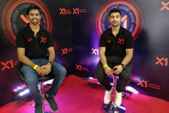 Armaan Ebrahim y Aditya Patel, cofundadores de la X1 Racing League