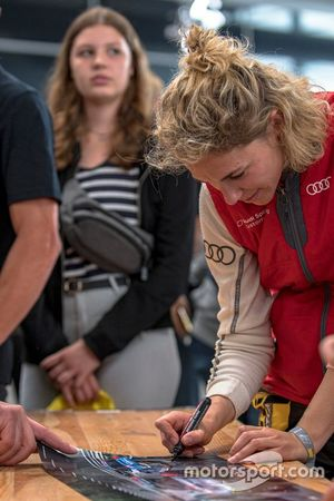 #148 Giti Tire Motorsport by RaceIng Audi R8 LMS BE: Rahel Frey