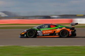 #555 Orange 1 FFF Racing Team Lamborghini Huracan GT3 2019: Michele Beretta, Taylor Proto, Diego Menchaca