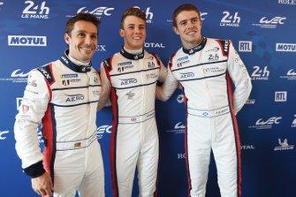 Filipe Albuquerque, Philip Hanson, Paul di Resta, United Autosports