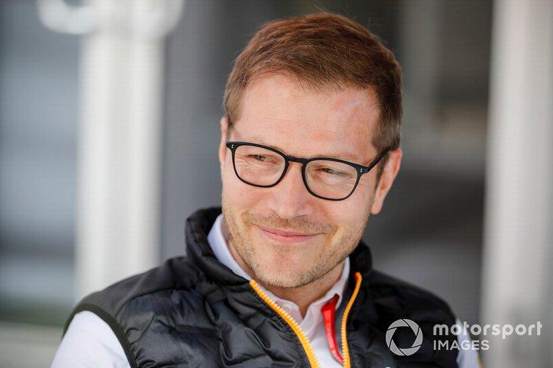Andreas Seidl, Team Principal, McLaren