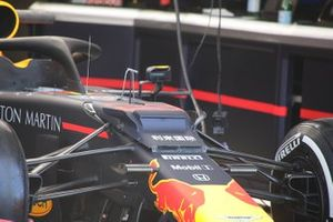 Max Verstappen, Red Bull Racing, front technical detail