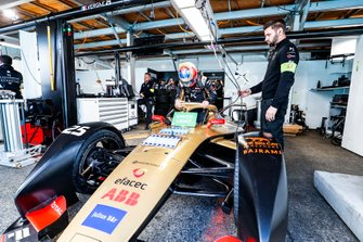 Jean-Eric Vergne, DS TECHEETAH, gets into his DS E-Tense FE19