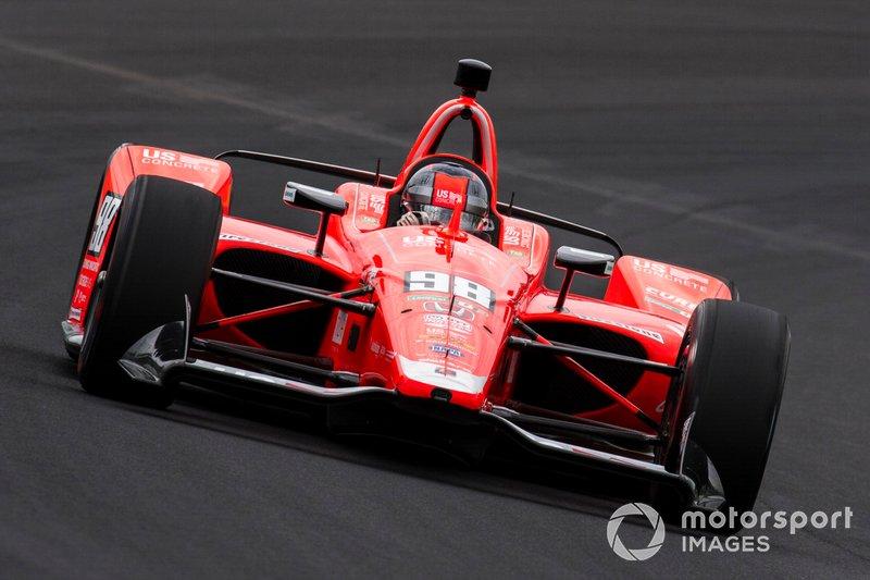 10º: #98 Marco Andretti, U.S. Concrete / Curb, Andretti Herta with Marco & Curb-Agajanian Honda: 228.756 mph