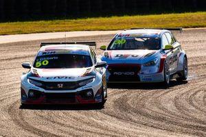Tony D'Alberto, Wall Racing Honda Civic Type R, Will Brown, HMO Customer Racing Hyundai i30 N TCR
