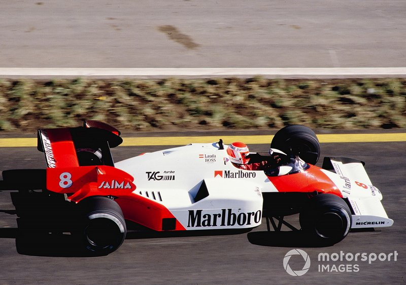 McLaren MP4/2 TAG Porsche - 12 victorias