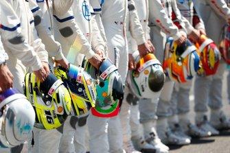 Helme der DTM-Fahrer 2019