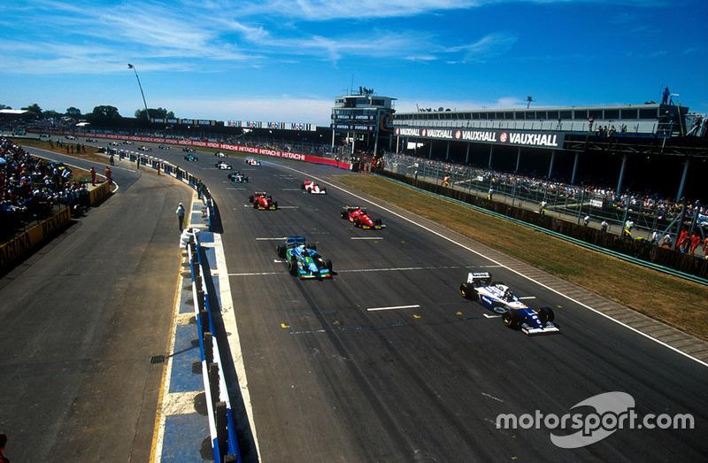 GP de Gran Bretaña 1994, DURO CASTIGO