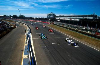 Damon Hill (Williams FW16 Renault), Michael Schumacher (Benetton B194 Ford), Gerhard Berger (Ferrari 412T1), Jean Alesi (Ferrari 412T1), Mika Hakkinen (McLaren MP4/9 Peugeot), Rubens Barrichello (Jordan 194 Hart)