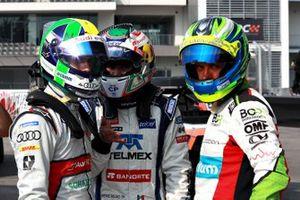 Benito Guerra, Lucas di Grassi and Memo Rojas