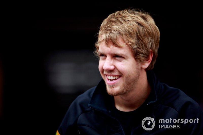 Sebastian Vettel vor zehn Jahren ...