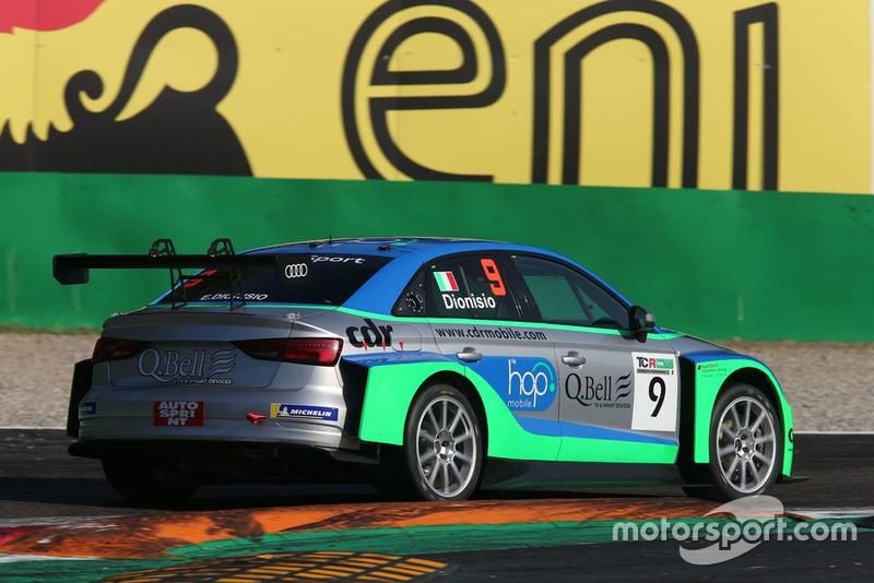 Ermanno Dionisio, Audi RS3 LMS, Pit Lane Competizioni