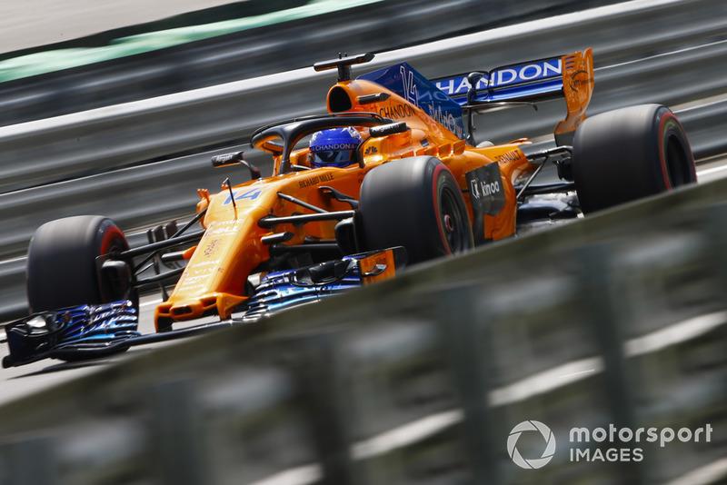 Ферандо Алонсо, McLaren MCL33 Renault