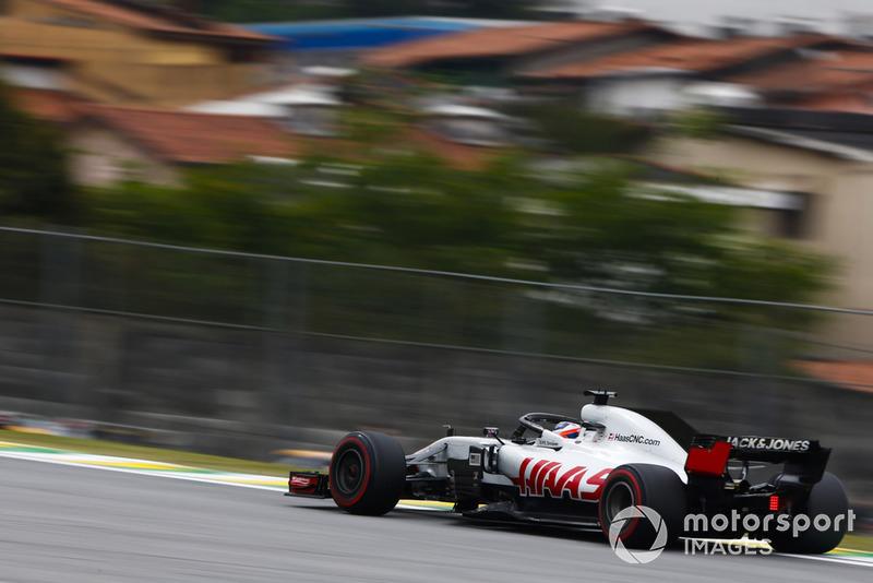 8. Romain Grosjean, Haas F1 Team VF-18