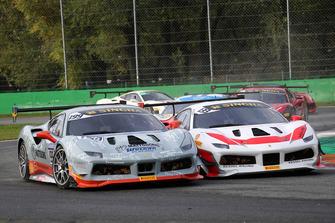 #199 Ferrari 488, Scuderia Autoropa: Ingvar Mattson e #133 Ferrari 488, Kessel Racing: Murat Ruhi Cuhadaroc